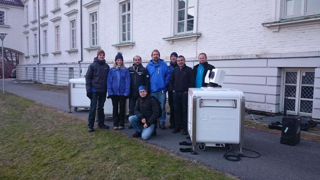 Participants at the OBLO course at GFI