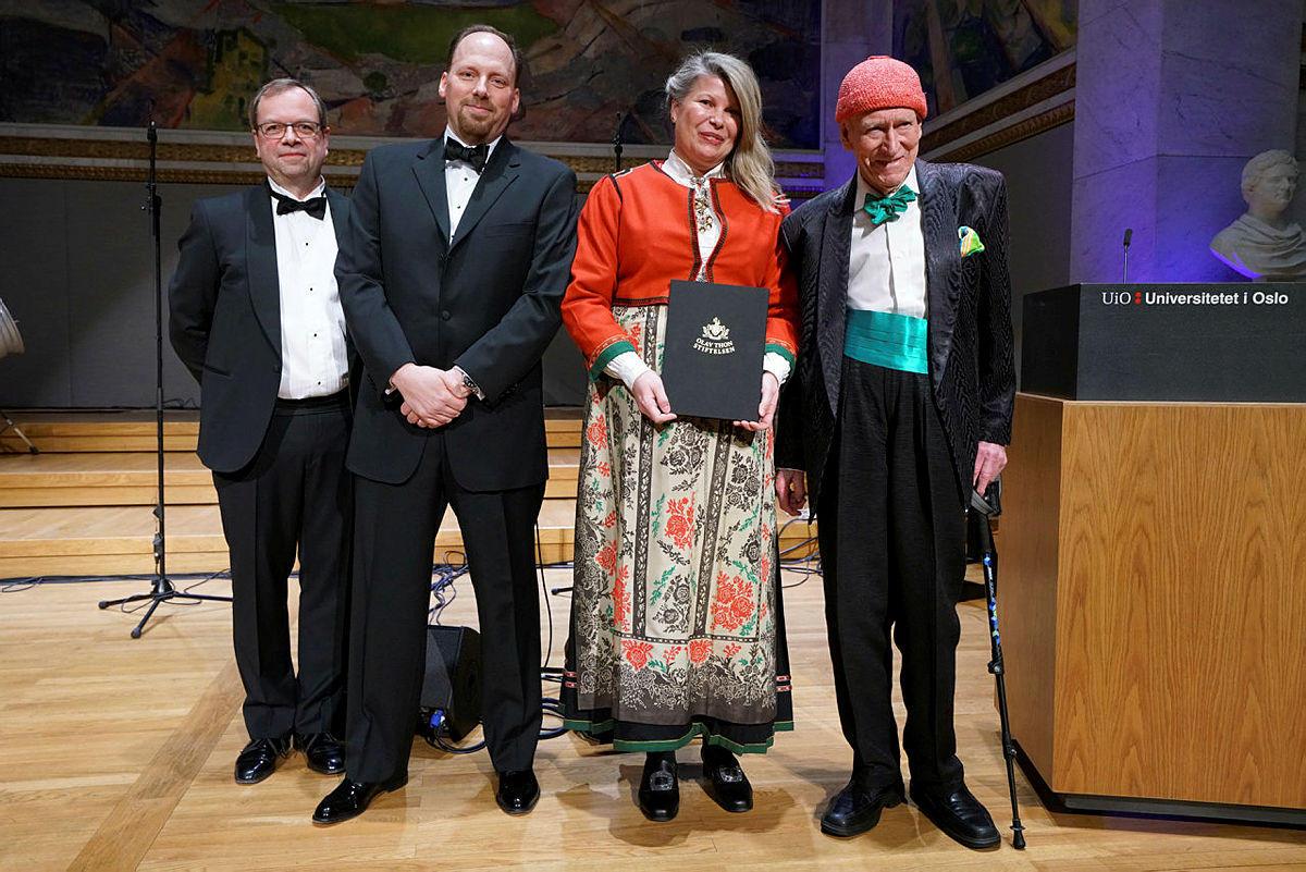 Olav Thon Stiftensens pris 2020