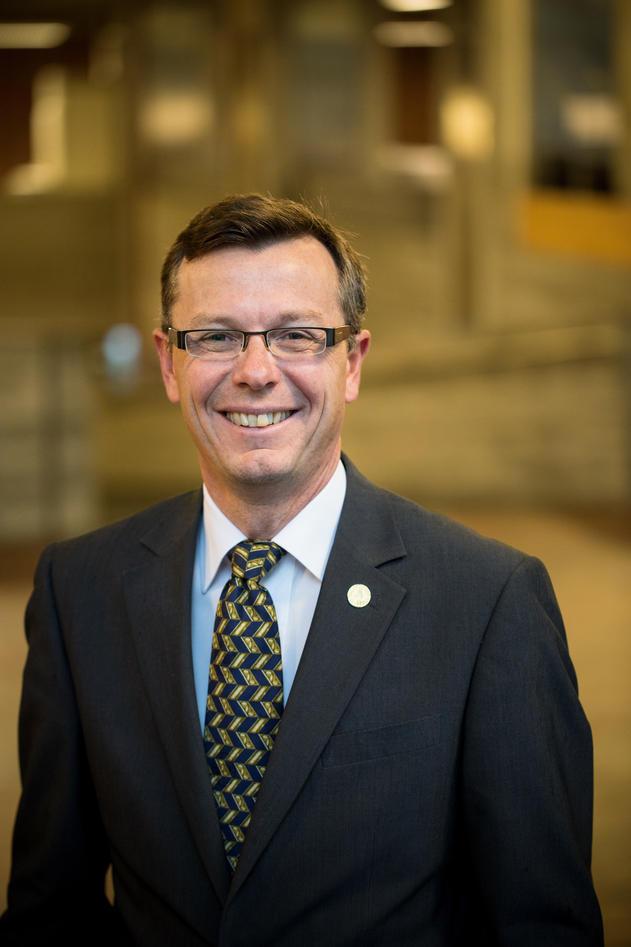 Rektor Dag Rune Olsenn