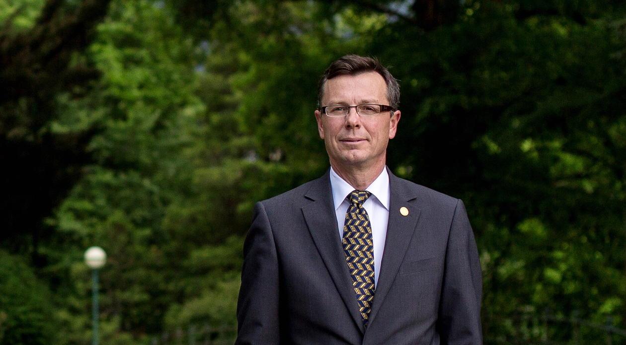 Rektor Dag Rune Olsen, portrett