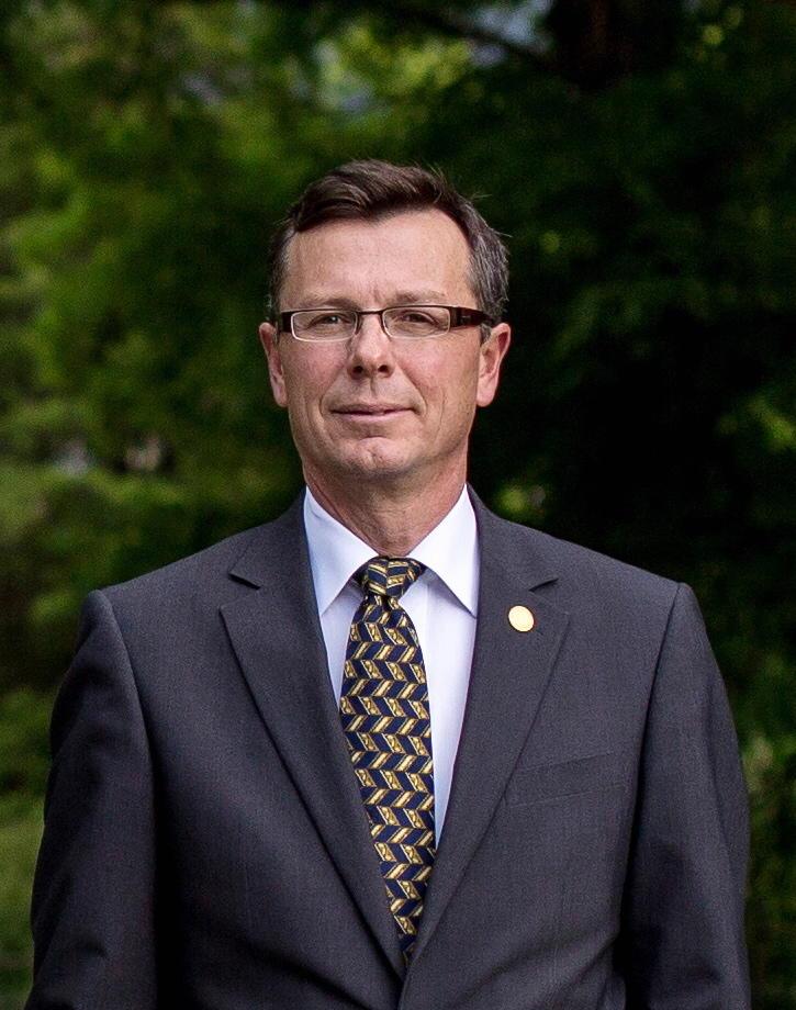 Dag Rune Olsen, rektor ved UiB. Portrett