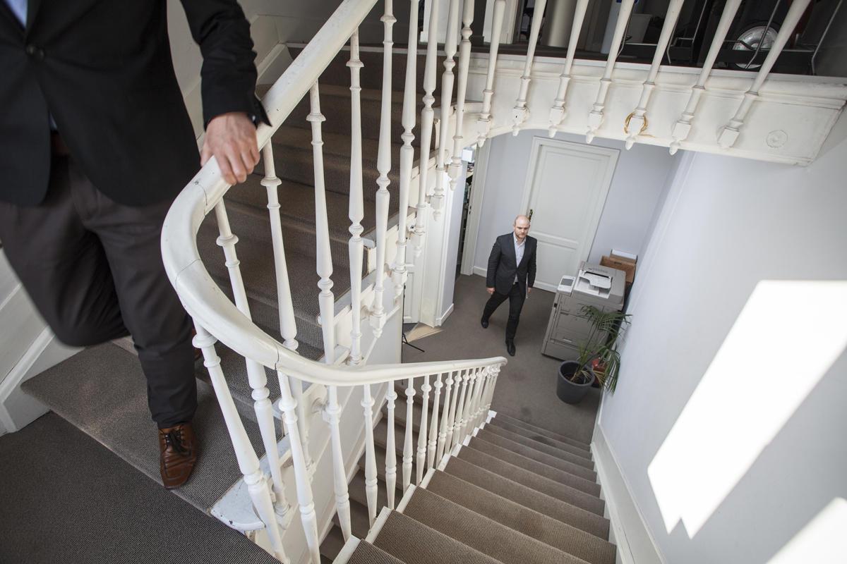 Interiør fra Brüsselkontoret