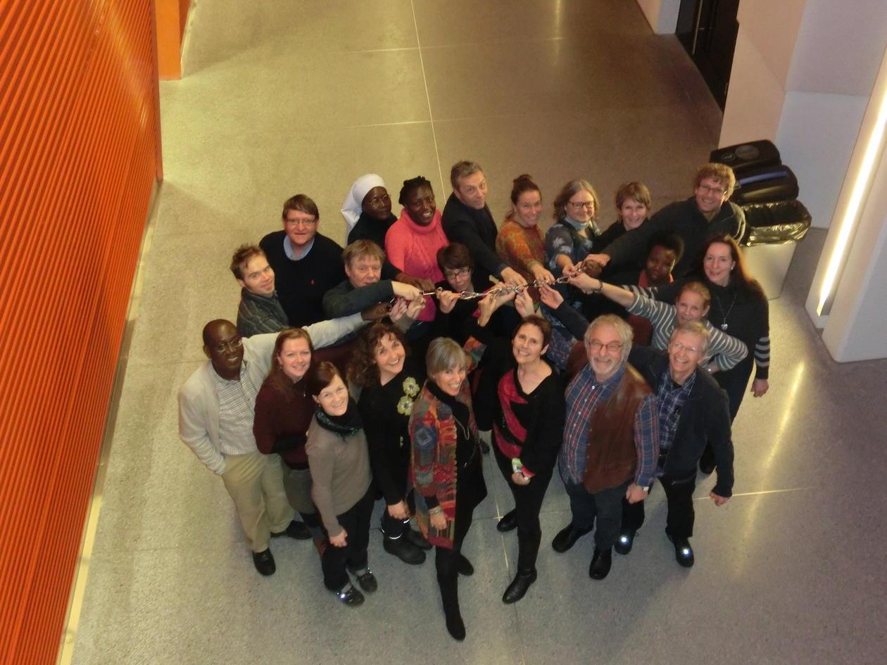 Personer fra SIH samlet i en gruppe