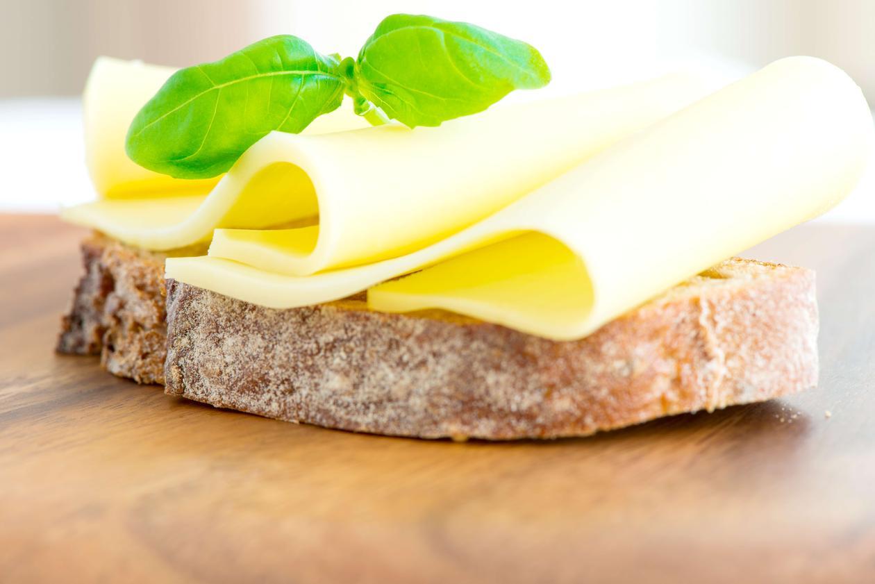 ost på brød