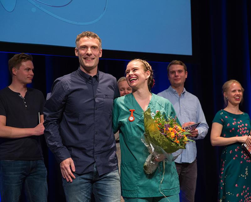 Vinnere av Forsker grand prix-finalen i Bergen 2018
