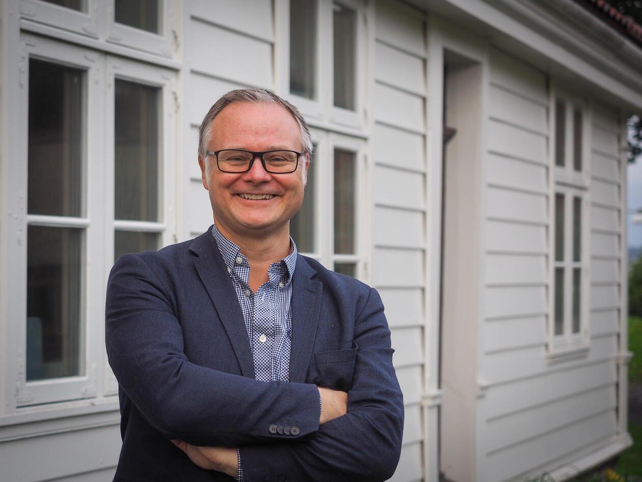 Holbergprisen faglig leder Bjørn Enge Bertelsen