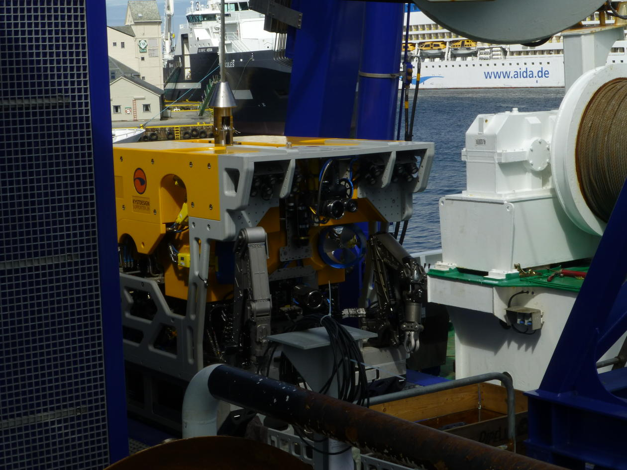 ROV, GO Sars, remotely operated vehicle