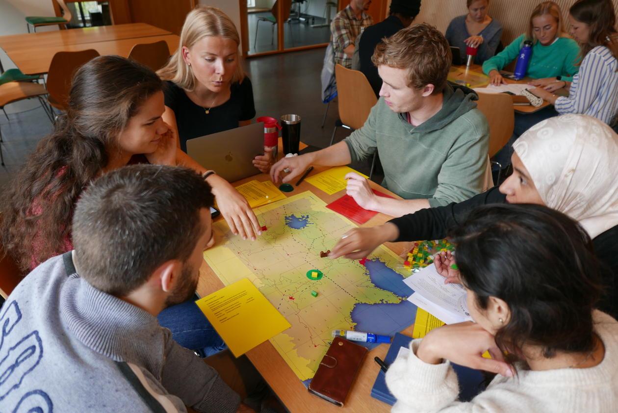 Global Health game