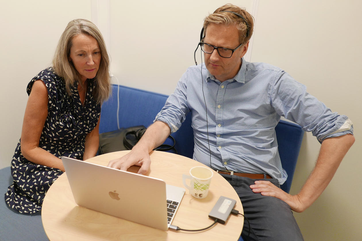 Laurie Blair and Håvard Haarstad