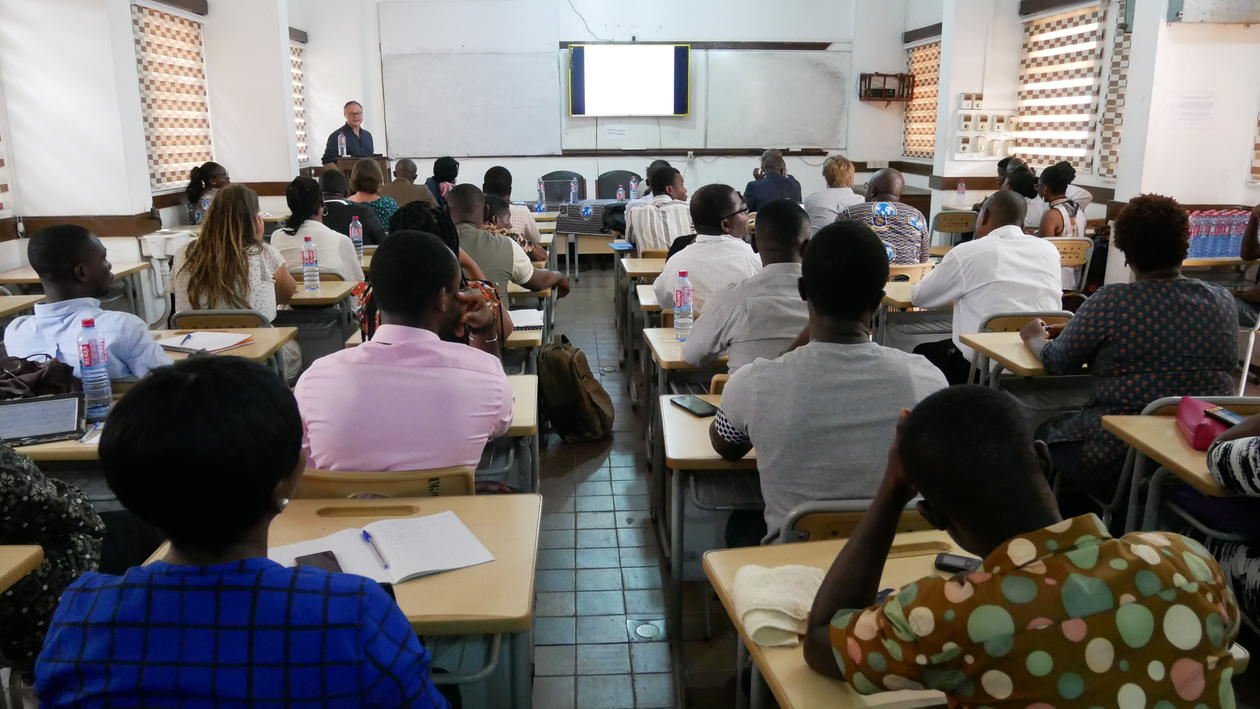 Open lecture at the University of Ghana
