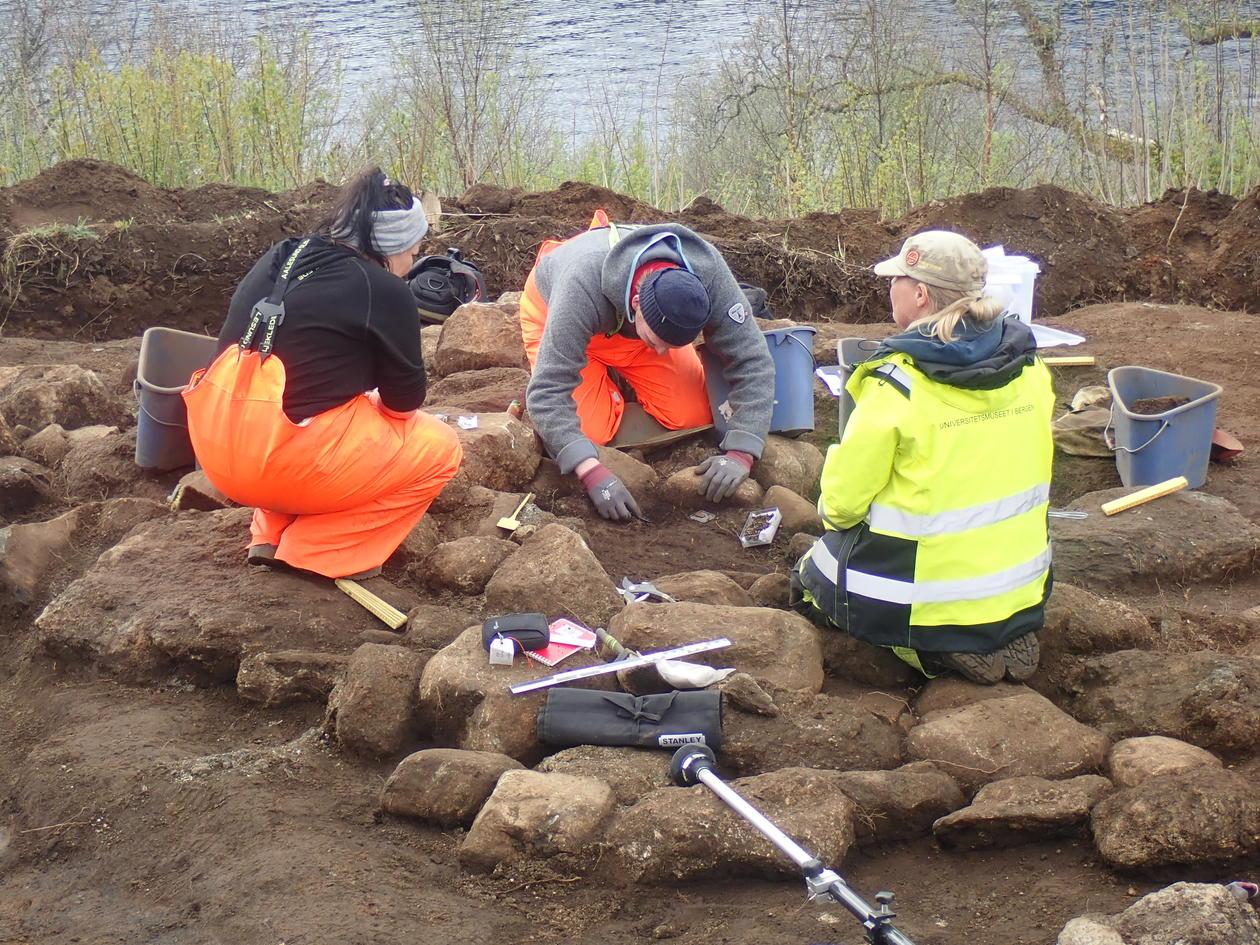 Utgraving av graven