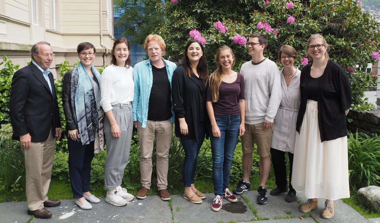 Paul Sniderman med medlemmer av DIGSSCORE