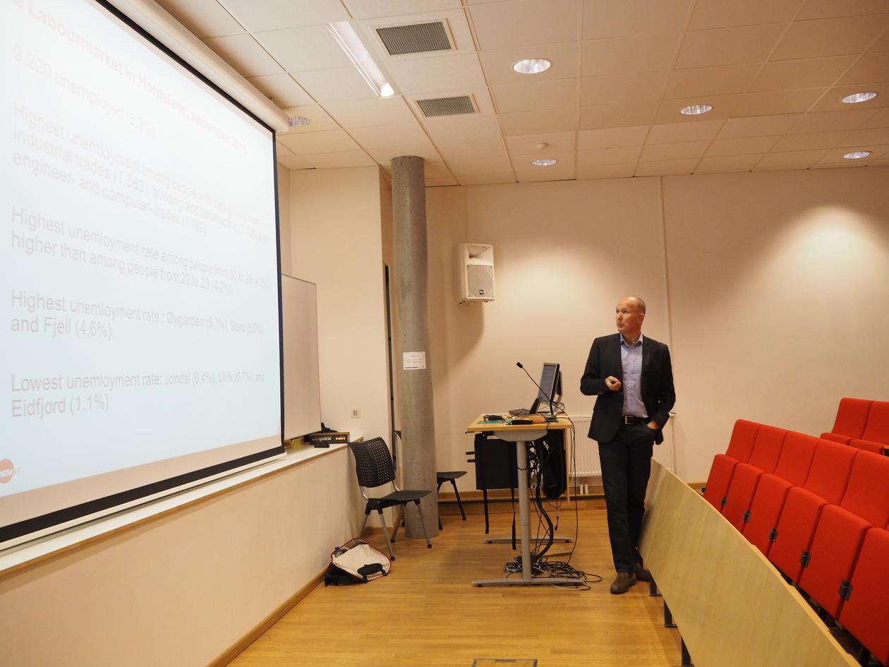 Assistant Director of NAV Hordaland, Tommy Johansen