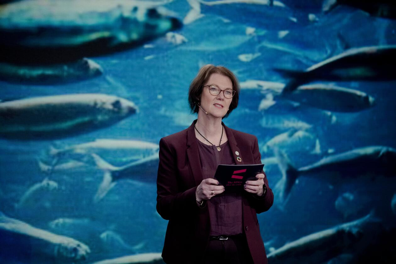 Scientific Director Lise Øvreås from Ocean Sustainability organised a special session on coastal communities at the SDG Conference Bergen in February 2021.