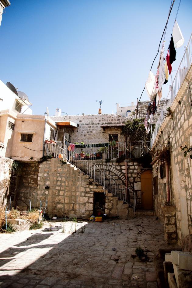 Gatebilde fra Palestina