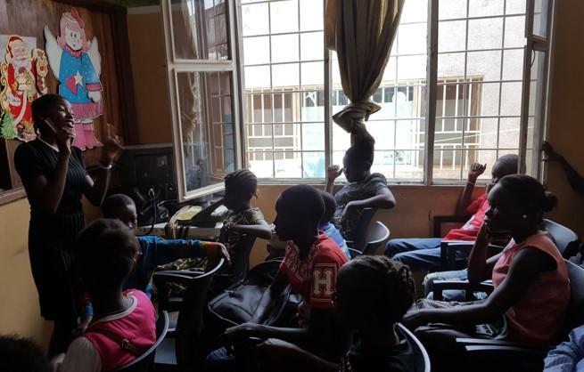 peer educators in action