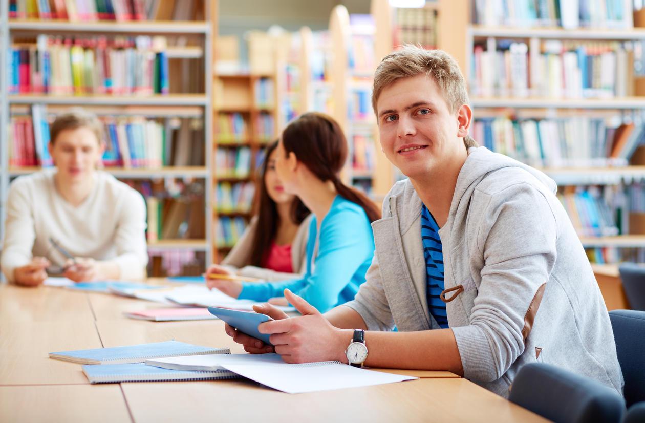 Om læringsmiljø - fra bibliotek