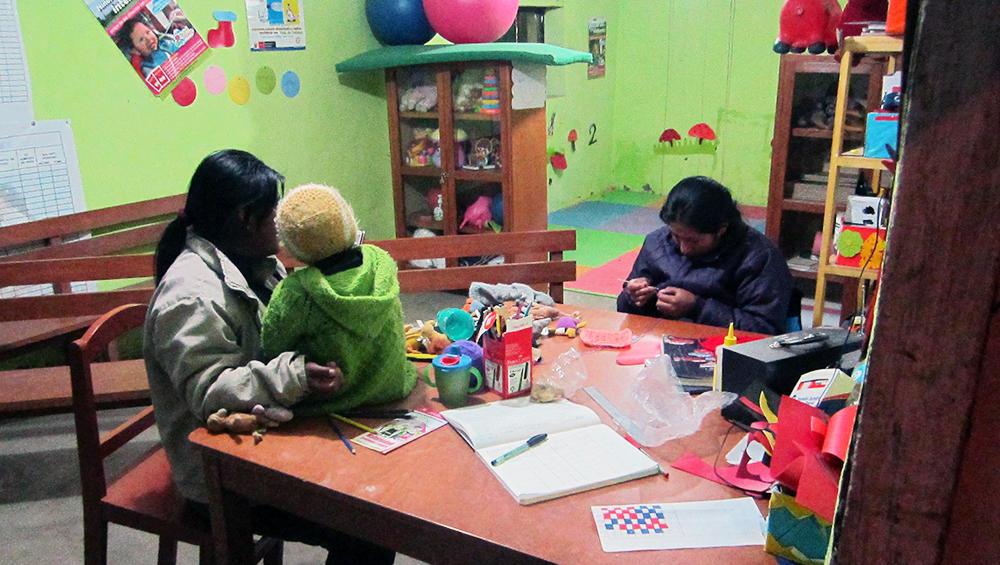 Helsestasjon i Peru
