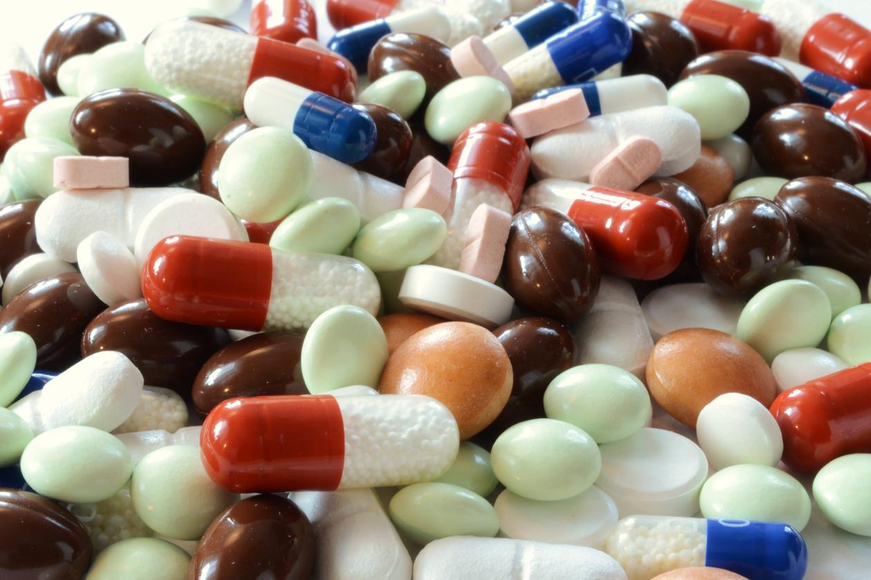Illustrasjonsbilde av piller