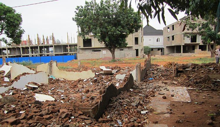 Bairro Polana Caniço, Maputo, January 2016