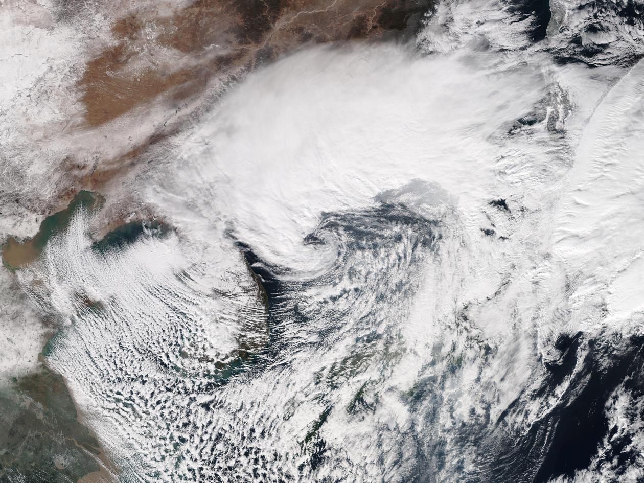 Polar Low Japan