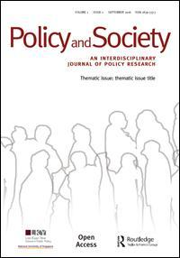 Policy and Society cover