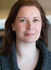 Head of academic and student affairs, Christine Stoltz Olsvik