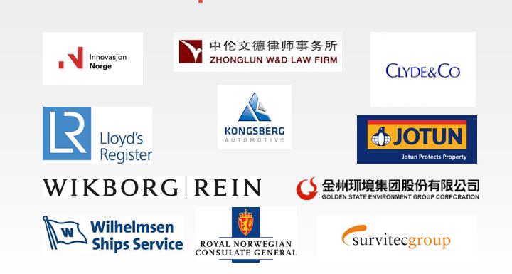 Logoer og navn på samarbeidsbedrifter