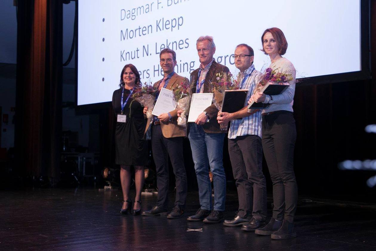 Tidendeprisen for best kasuspresentasjon i perioden 2014 - 2016