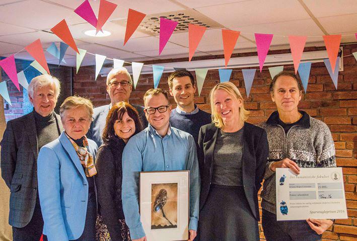 Glade vinnere av Det humanistiske fakultet sine priser 2016