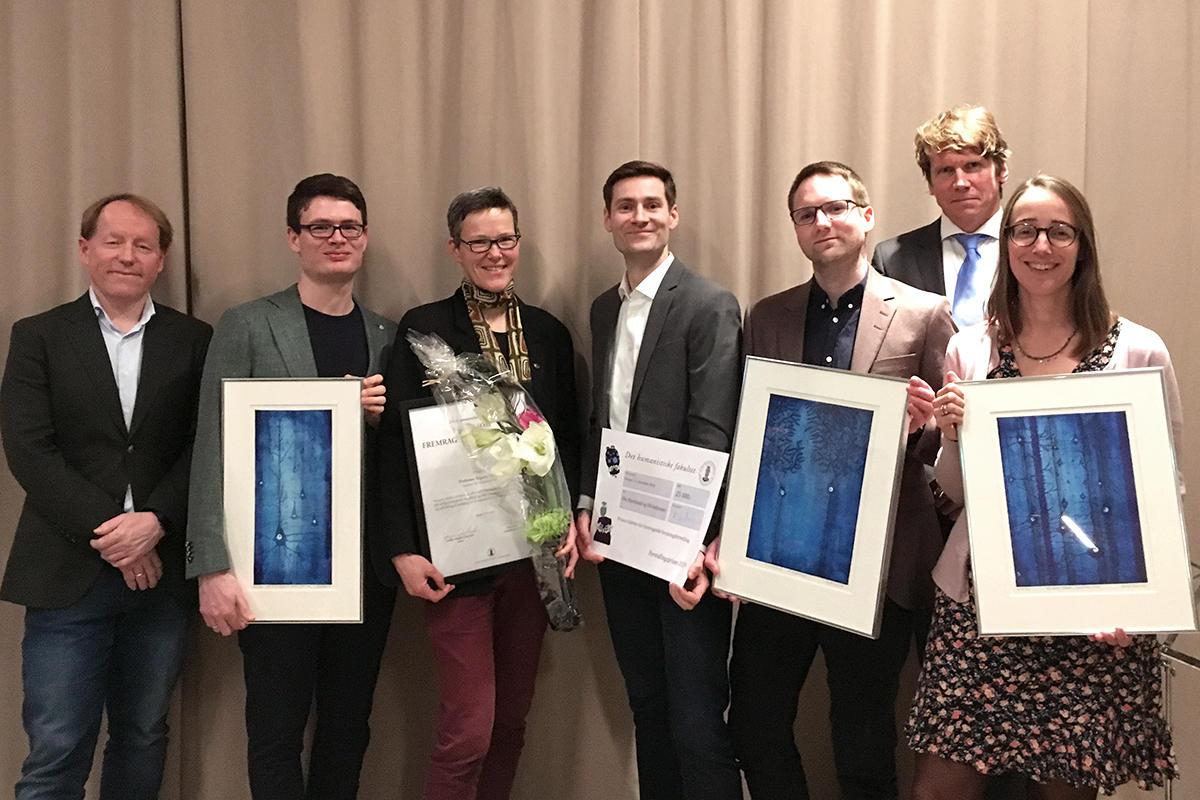 Prisvinnere ved Det humanistiske fakultet 2019