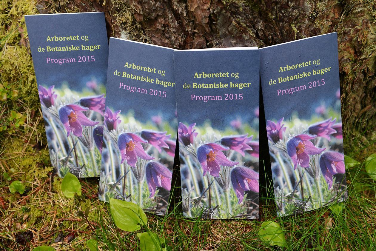 Programfolder for Arboretet og de Botaniske hager 2015