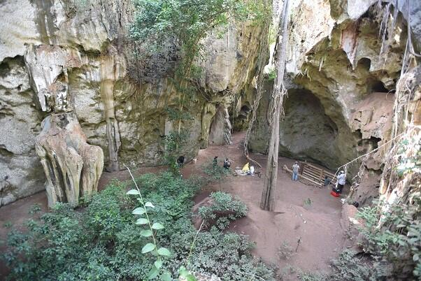Finding of earliest African burial 78000 year