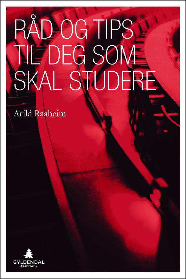 """Bilde av forsiden til boken """"Råd og tips til deg som skal studere"""""""