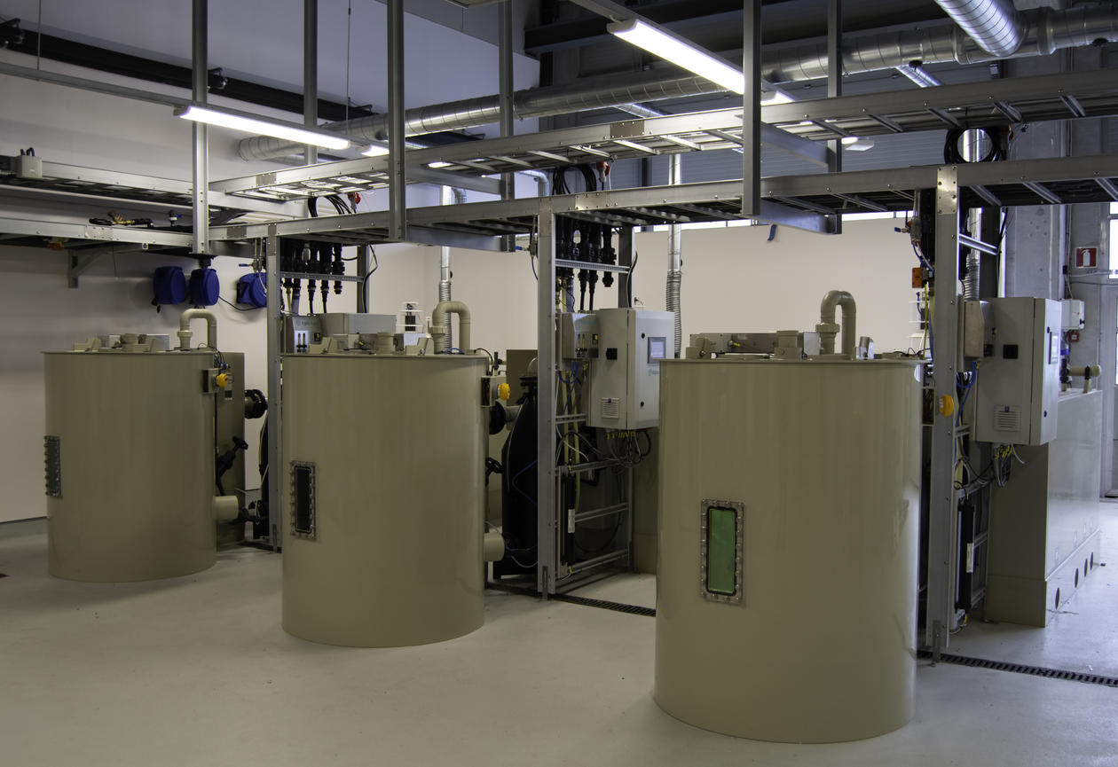 UiB tilbyr kurs i RAS: Resirkulering i akvakultur.