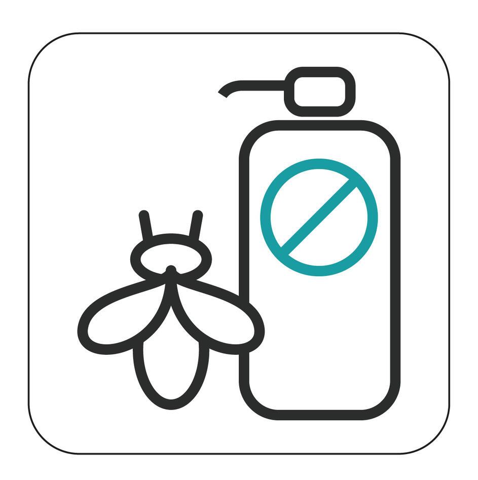 bie og sprøytemiddel logo fra RECIPES