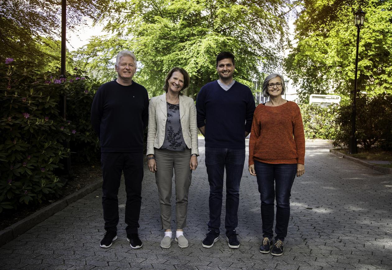 Ansatte i Norsk MS-register og biobank
