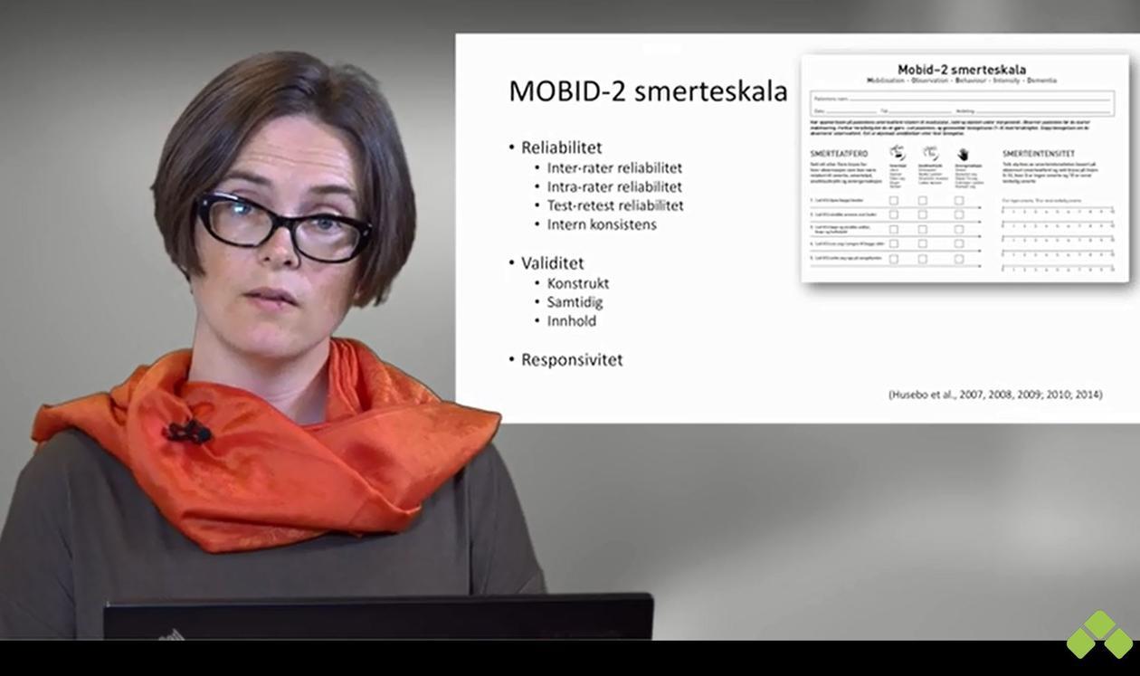 Reidun Sandvik skjermdump video