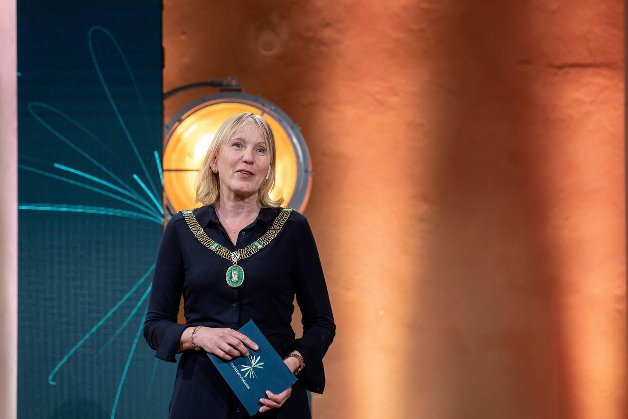 Christiekonferansen 2021 Rektor ved UiB Margareth Hagen