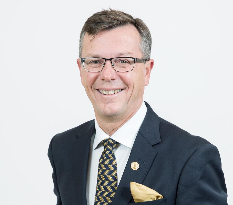 Rektor Dag Rune Olsen.
