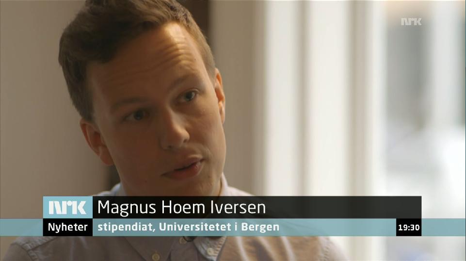 Magnus hoem iversen snakker