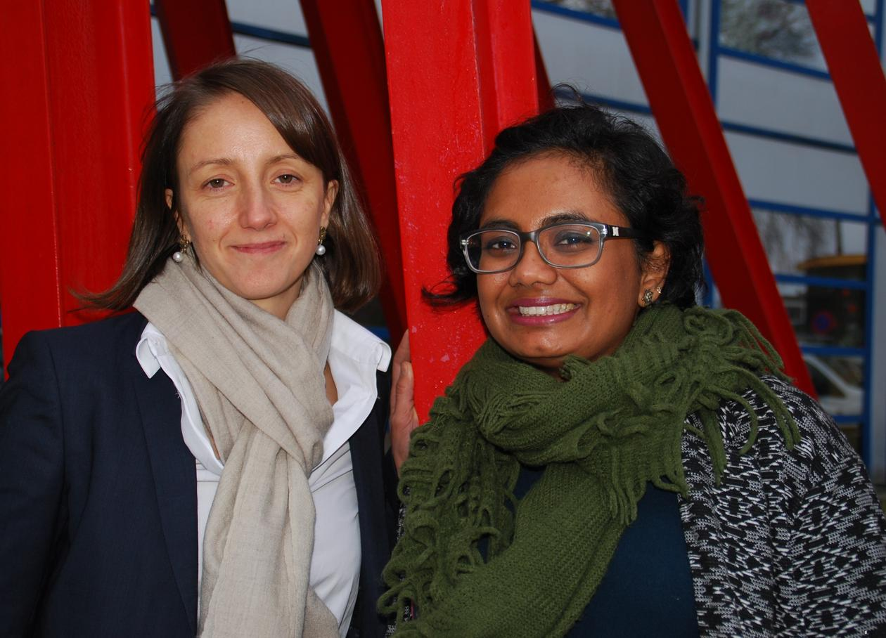 Professor Nathalie Reuter and Researcher Sandhya Tiwari of the Department of Molecular Biology at the University of Bergen.