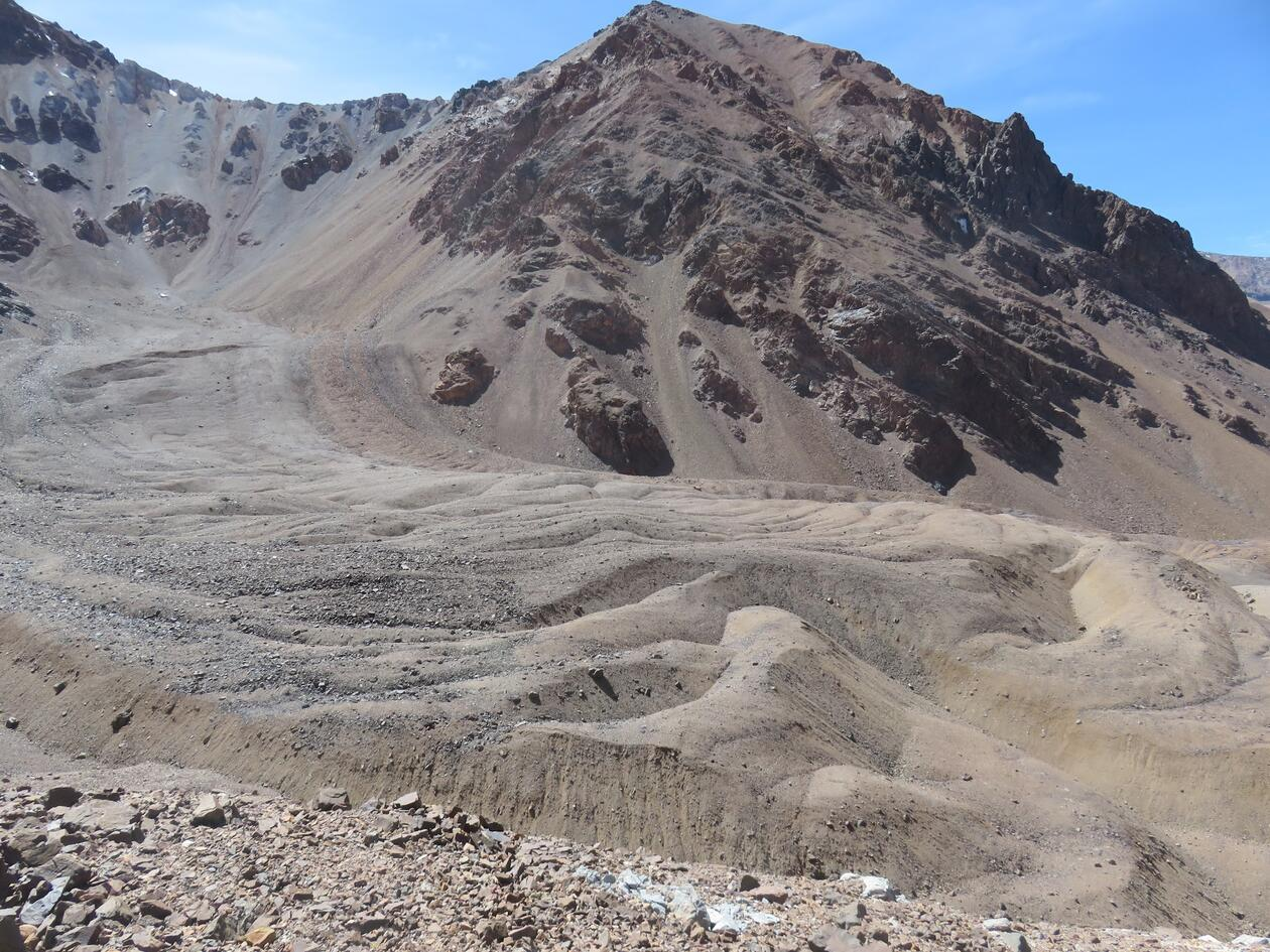 Rock glacier morphology