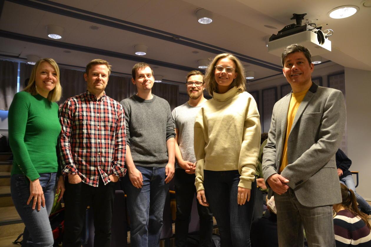 Lærere ved Rothaugen skole og forelesere og studenter ved Institutt for sammenliknende politikk