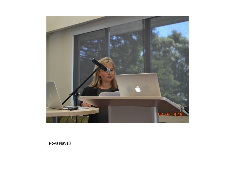 Roya Navab at the SF conference 2018