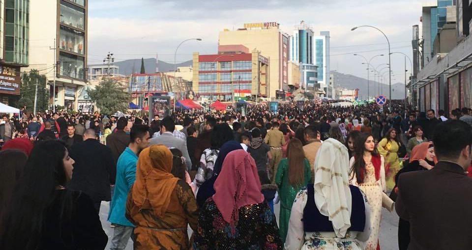 Newroz Celebration in Slemani