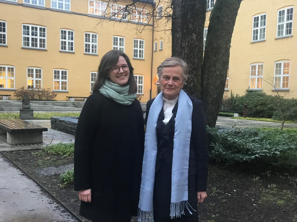 Runa Falck and Kjersti Fløttum