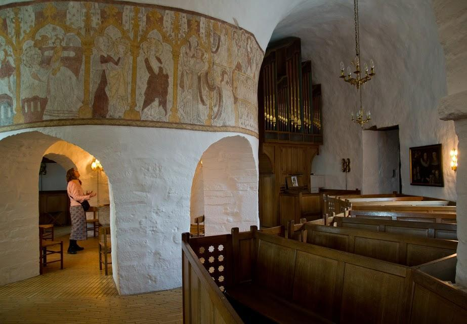 Rund kirke Bornholm