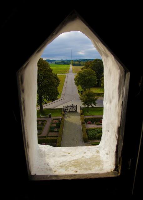Slottsvindu utsikt