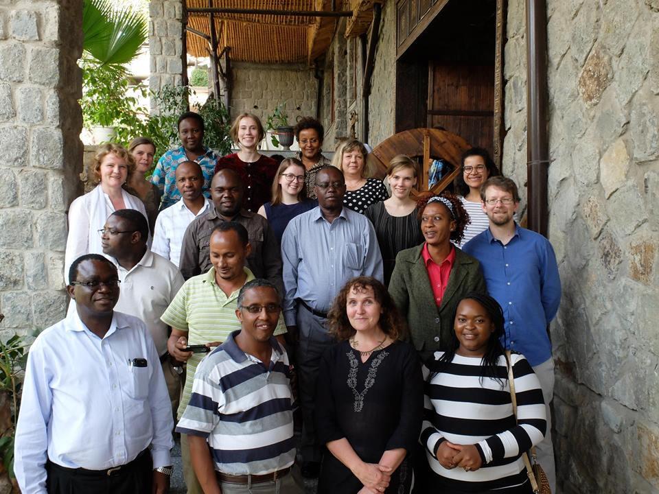 Participants at the start-up workshop in Bishoftu/Debre Zeit, Ethiopia, 3-5 March 2016
